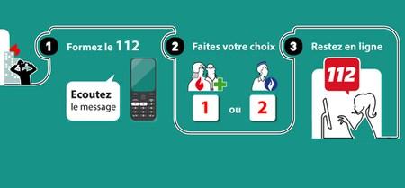 Attention, à partir du 1er octobre, le 112, numéro d'appel unique pour ambulance, pompier et police.