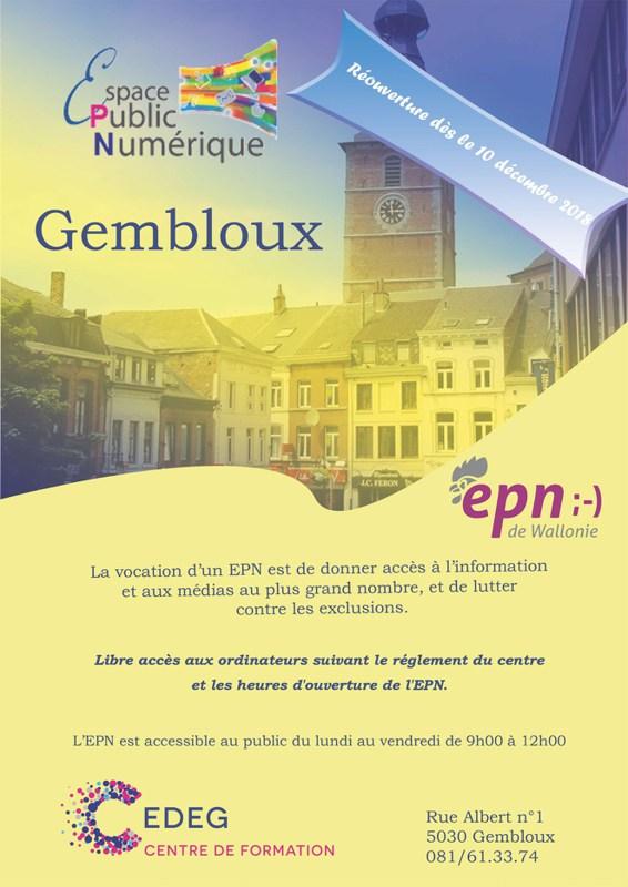 Espace EPN Gembloux