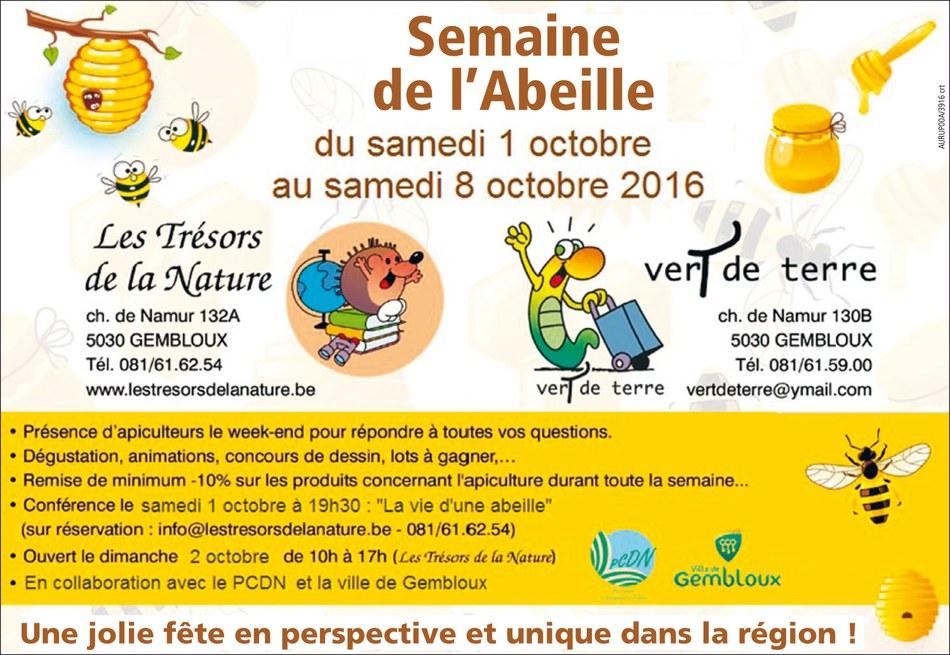 semaine abeille