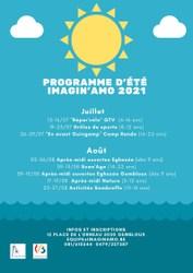 Programme d'été d'Imagin'amo