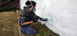 Takir a commencé sa fresque - PRIZME