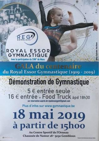 Gala du Centenaire du Royal Essor Gymnastique