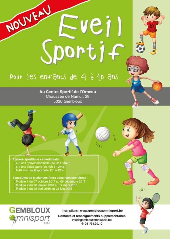 Affiche Eveil Sportif pour