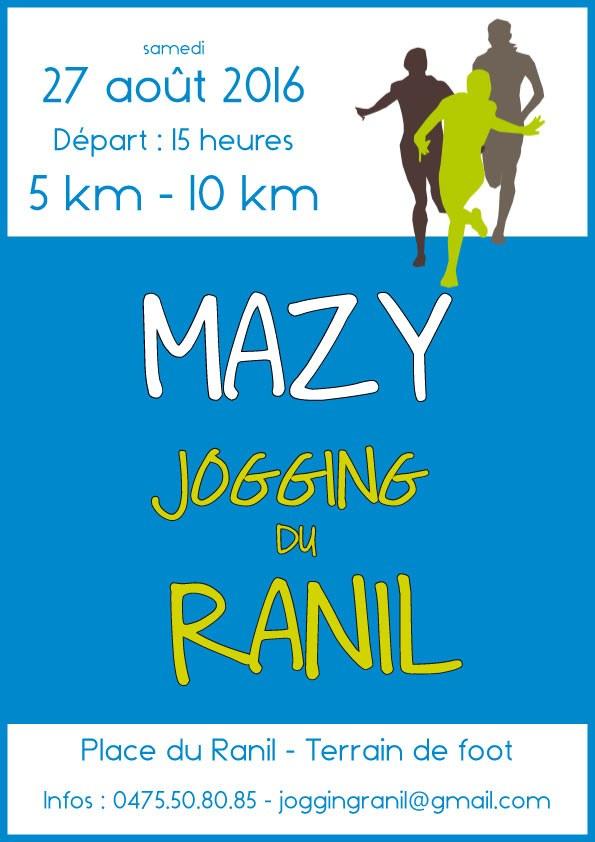 Affiche jogging ranil