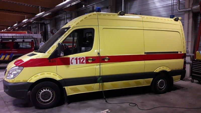 Amulance Mercedes a