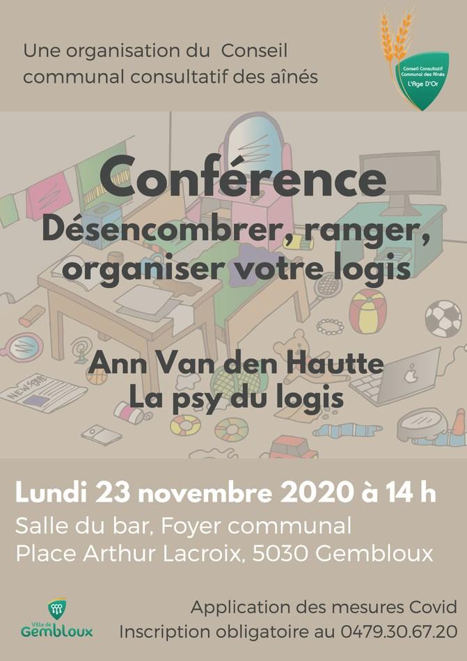 Conférence Fée du Logis