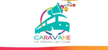 """Caravane, le réseau qui roule, à la salle """"A tous vents"""" à Gembloux !"""