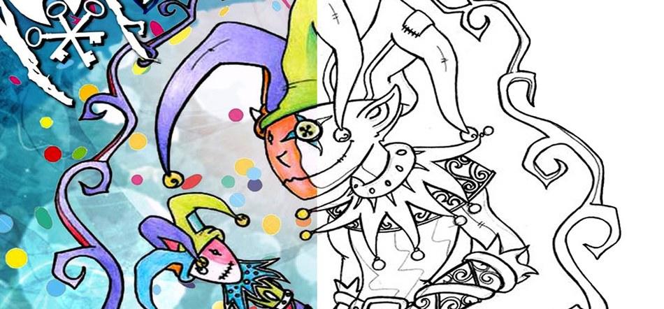 Concours de dessin coloriage carnaval de gembloux site de la ville de gembloux - Dessins carnaval ...