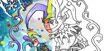 Concours de dessin - coloriage - carnaval de Gembloux