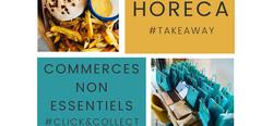 """""""Click & Collect"""" et """"Take away"""" : pensez à vos commerçants locaux !"""