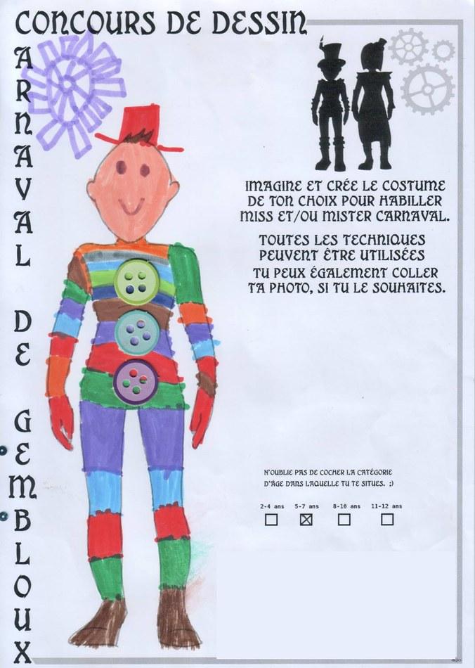5 7 ans Jules HARVENGT