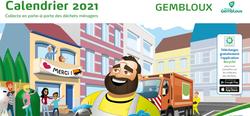 Calendrier 2021 des collectes de déchets