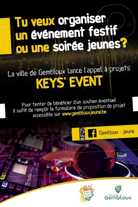 keys event
