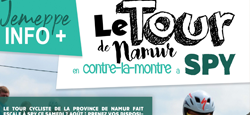 Escale du Tour de la Province de Namur à Spy le samedi 7 août 2021