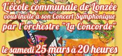 """Concert symphonique par l'orchestre """"La Concorde"""""""