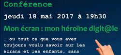 Conférence : Mon écran... mon héroïne digit@le