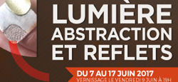 "Exposition : ""Lumière, abstraction et reflets"""