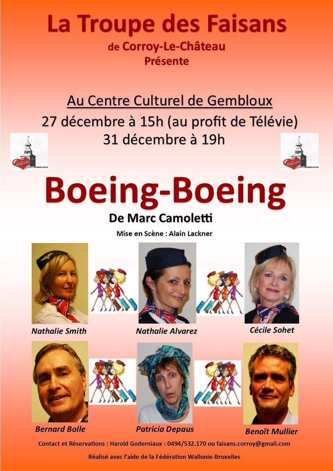 Affiche Boeing Boeing Gembloux