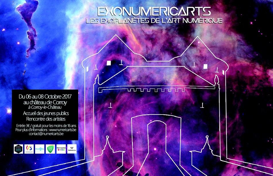 affiche exonumericarts