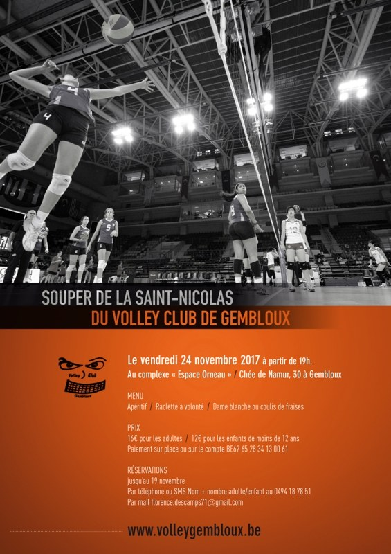 affiche volley gembloux