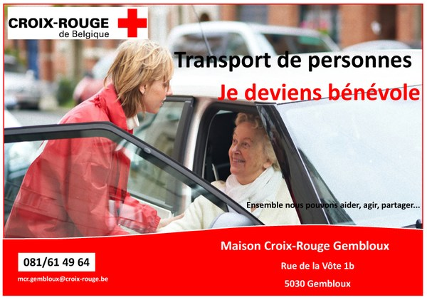 Appel volontaire transports personne A4