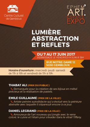 Ephemart abstraction lumier