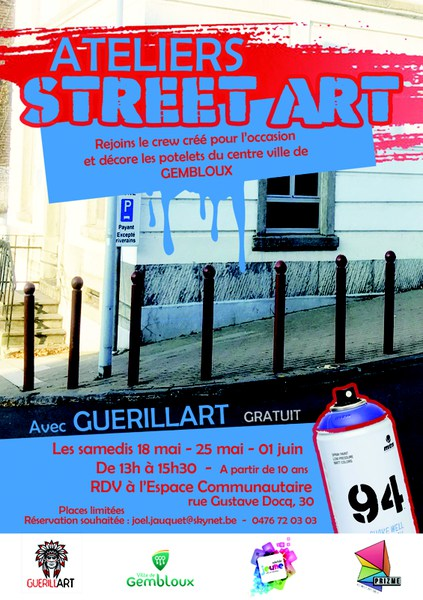 flyers ateliers potelets