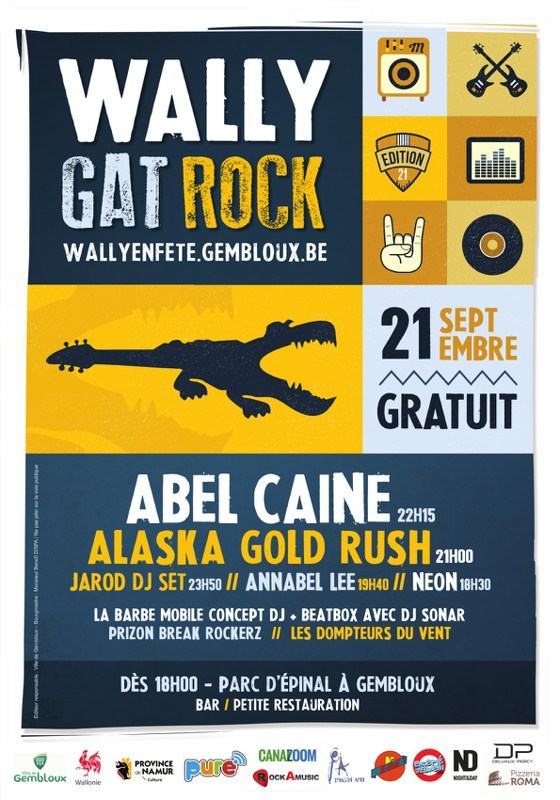 Wally Gat Rock   Affiche 42