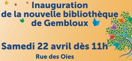 Inauguration de la nouvelle bibliothèque de Gembloux