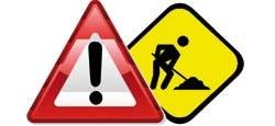 Travaux d'entretien au niveau du passage à niveau rue Chapelle-Dieu du 16.08 au 17.09